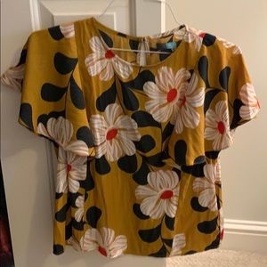 Size 4 top from Anthropologie